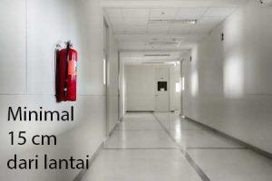 Permenakertrans Mengenai Penempatan Alat Pemadam Api_Jarak