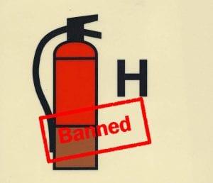 APAR Clean Agent yang Dilarang Penggunaannya