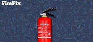 jual alat pemadam kebakaran di mobil